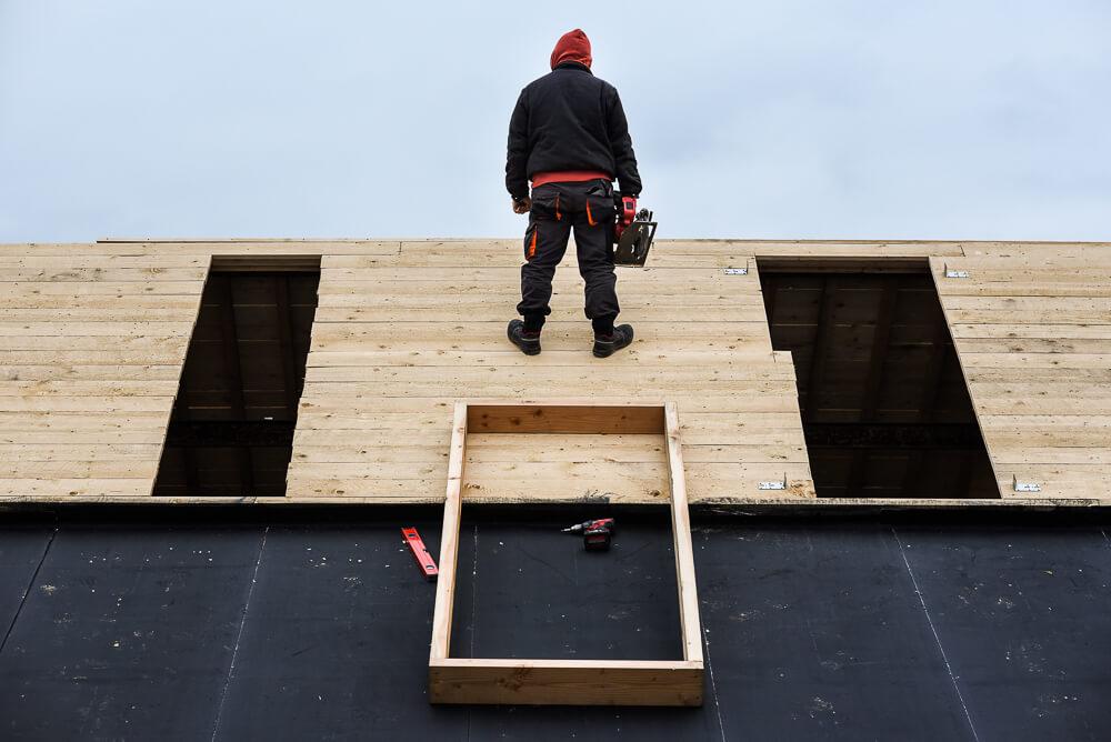 dakwerken, loods23, Gent, Voorhaven, bedrijfsfoto, reportage